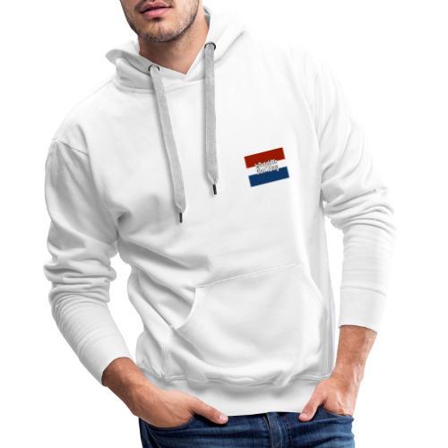 In Dutch we don't say - Mannen Premium hoodie
