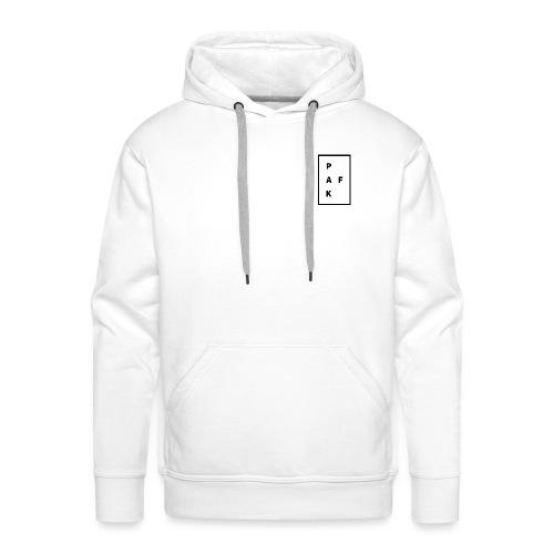 Pak.Af /// WIT - Mannen Premium hoodie