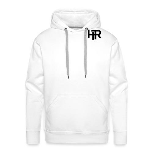 HR Logo black - Sweat-shirt à capuche Premium pour hommes