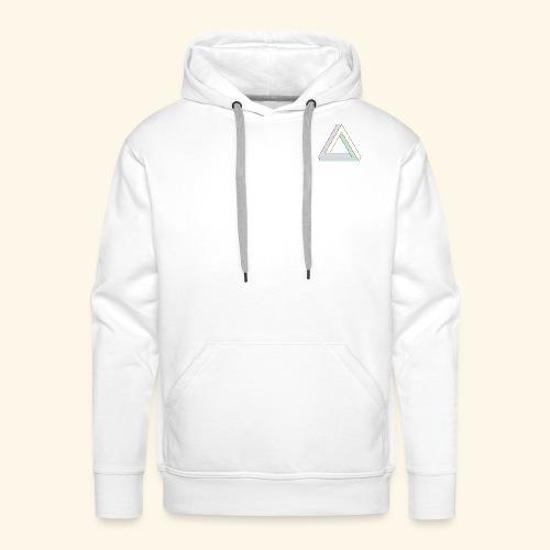Triangle penrose - Sweat-shirt à capuche Premium pour hommes