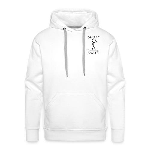 Shitty Skate - Mannen Premium hoodie