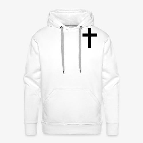 Christian cross - Men's Premium Hoodie