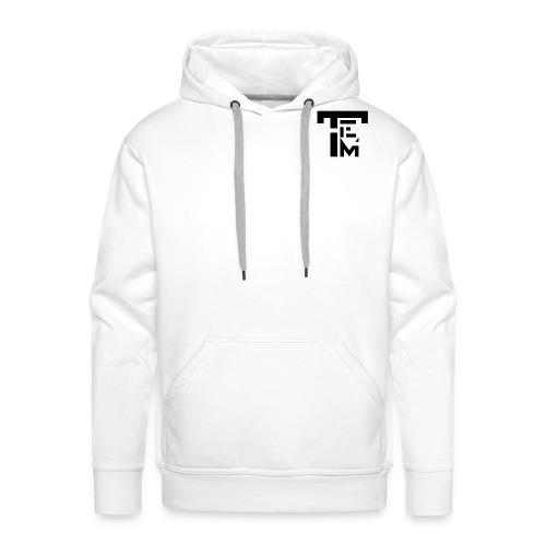 TEM BLACK - Sweat-shirt à capuche Premium pour hommes