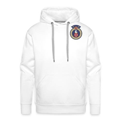 13 Eastleigh Badge White - Men's Premium Hoodie