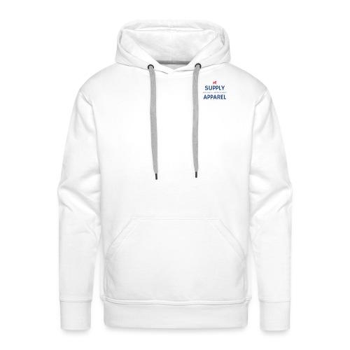 Plain EST logo design - Men's Premium Hoodie