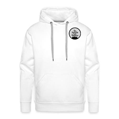 onsurvolelesrageux - Sweat-shirt à capuche Premium pour hommes
