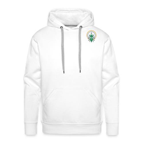 Alien peace - Sweat-shirt à capuche Premium pour hommes