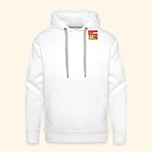 Blason ville de Liege - Sweat-shirt à capuche Premium pour hommes