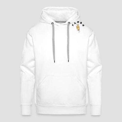 LogoPEABS - Sweat-shirt à capuche Premium pour hommes