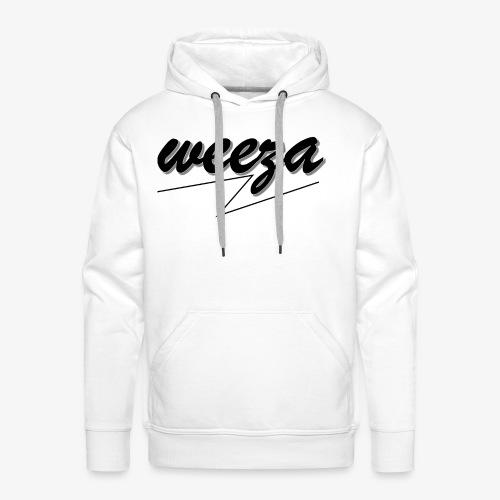 Black_on_White_weeza - Männer Premium Hoodie