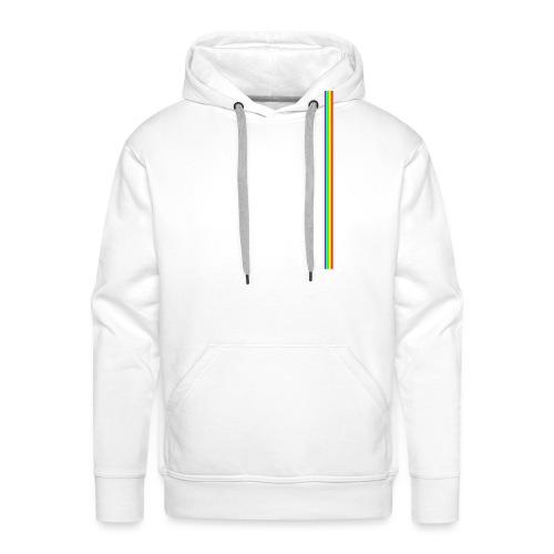 Linea Neon LGBT+ - Sudadera con capucha premium para hombre