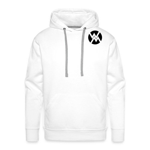 logo WM - Sweat-shirt à capuche Premium pour hommes