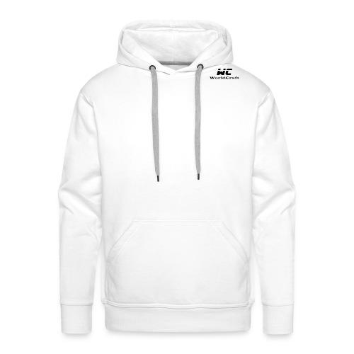 WorldCraftNoir - Sweat-shirt à capuche Premium pour hommes