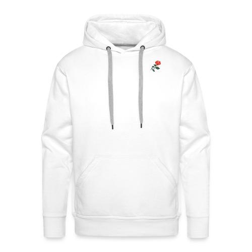 Rose anti social - Mannen Premium hoodie