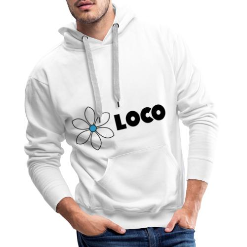 Clasique Loco Boy - Sweat-shirt à capuche Premium pour hommes