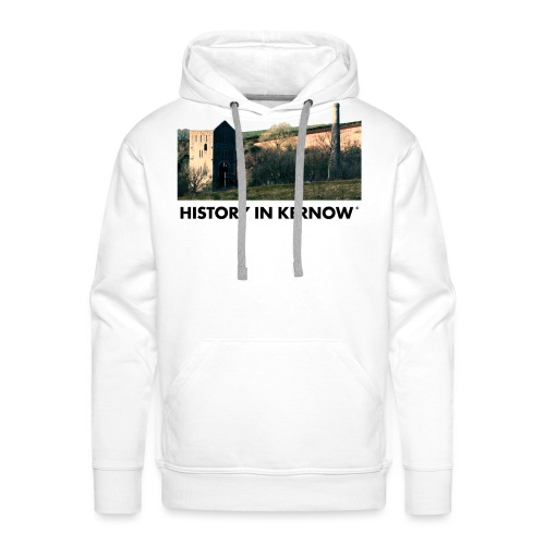 HISTORY IN KERNOW EAST WHEAL ROSE - Men's Premium Hoodie