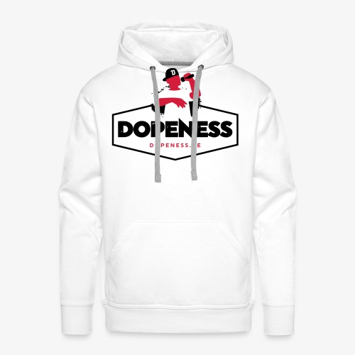 DOPENESS LOGO 1 - Mannen Premium hoodie