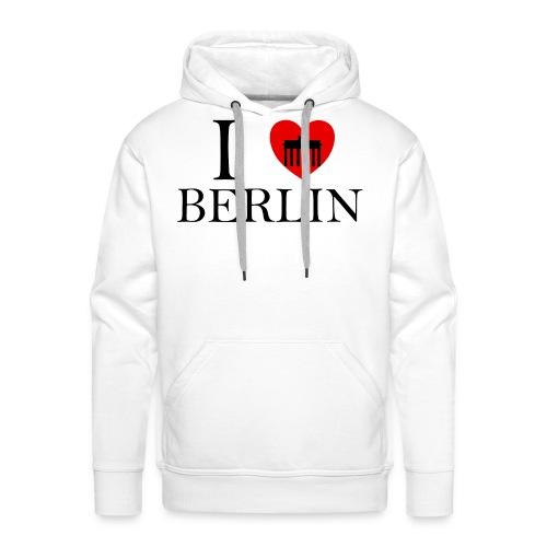 I LOVE BERLIN - Männer Premium Hoodie