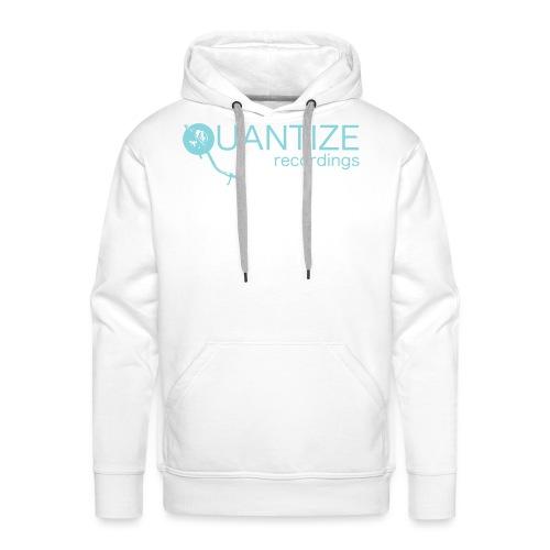 Quantize Blue Logo - Men's Premium Hoodie