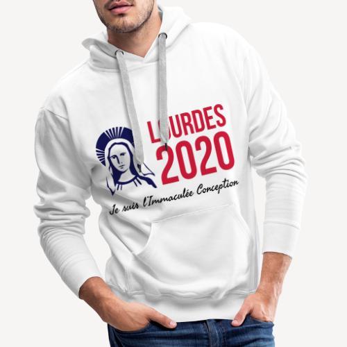 LOURDES 2020 - Men's Premium Hoodie