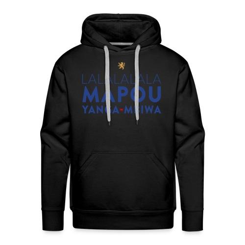 Mapou YANGA-MBIWA - Sweat-shirt à capuche Premium pour hommes