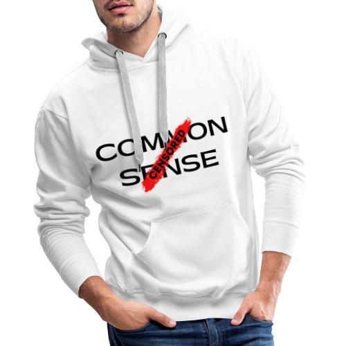 COMMON SENSE - Men's Premium Hoodie