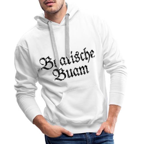 Boarische Buam Männer aus Bayern (Vintage Schwarz) - Männer Premium Hoodie