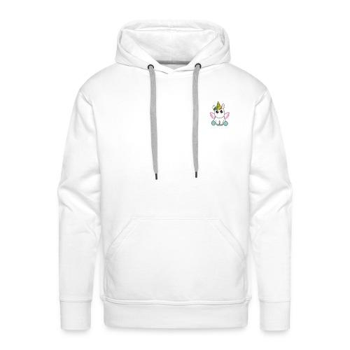 Licorne POWER - Sweat-shirt à capuche Premium pour hommes
