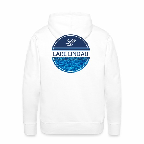 Bright Day At The Lake - Männer Premium Hoodie