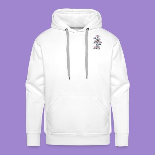 Violettes - Sweat-shirt à capuche Premium pour hommes