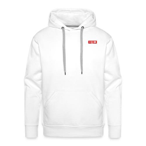 LetsPlayMicro BarCode Shirts - Männer Premium Hoodie