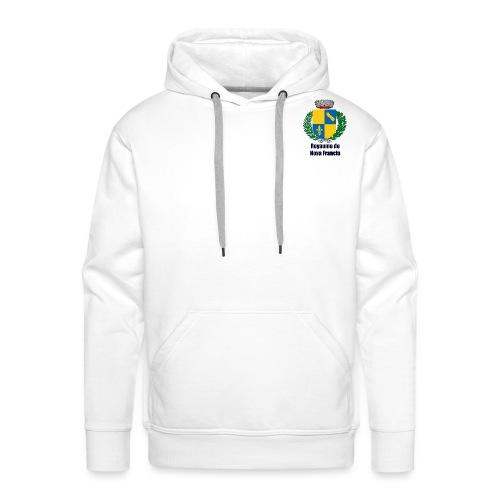Royaume de Nova Francia - Sweat-shirt à capuche Premium pour hommes
