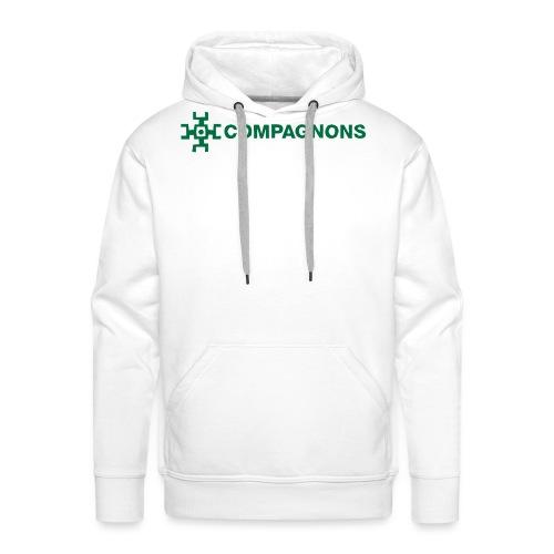Branche Compagnons - Sweat-shirt à capuche Premium pour hommes