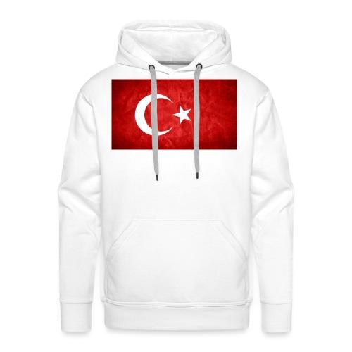 Türkei Flagge - Männer Premium Hoodie