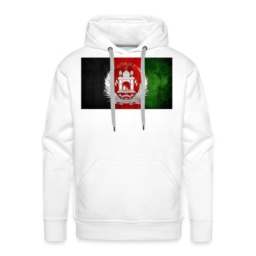 Afghanistan Flagge - Männer Premium Hoodie