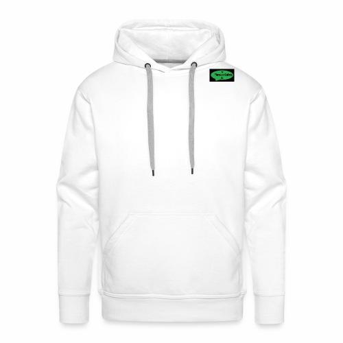 logo Phrases Cultes - Sweat-shirt à capuche Premium pour hommes