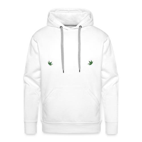cannabis leaf 52460 png - Sweat-shirt à capuche Premium pour hommes