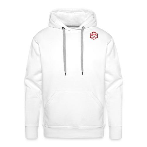 D20 Red - Mannen Premium hoodie