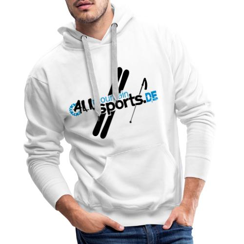 ALLmountainSPORTSde Logo - Männer Premium Hoodie