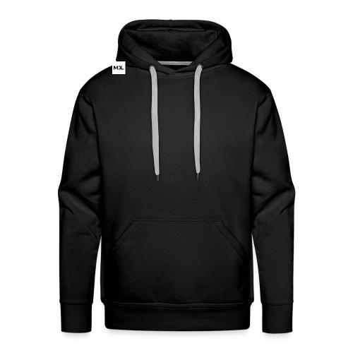MDL Merk design - Mannen Premium hoodie