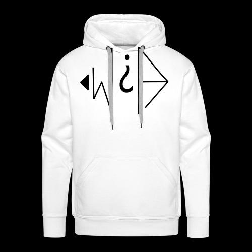 W et A - Sweat-shirt à capuche Premium pour hommes