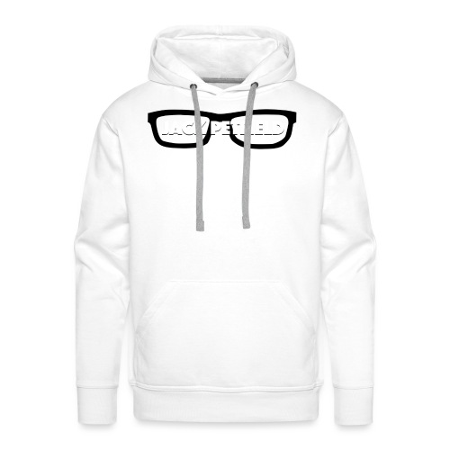 YouTube Banner Transparent Jack Petfield png - Men's Premium Hoodie