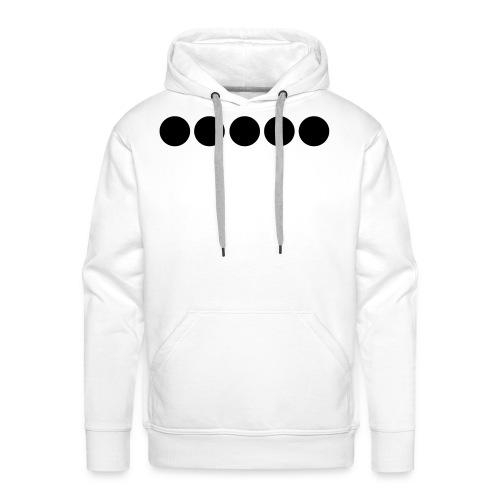 Dots Flexdruck - Männer Premium Hoodie