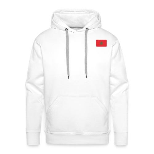 maroc 1 - Sweat-shirt à capuche Premium pour hommes