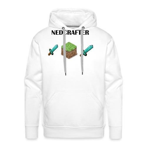 NedCrafter Logo - Männer Premium Hoodie