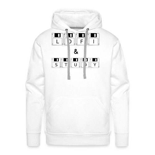 LoFi and Study - Men's Premium Hoodie