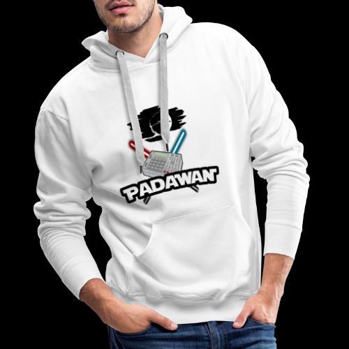 Padawan Noir - Sweat-shirt à capuche Premium pour hommes