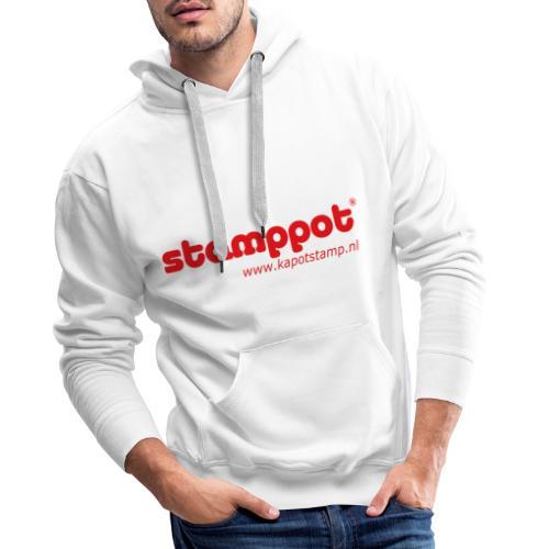 STAMPPOT - Mannen Premium hoodie
