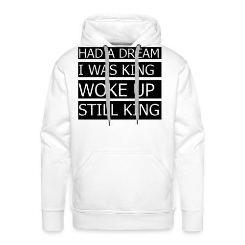 T-Shirt med citat - Herre Premium hættetrøje