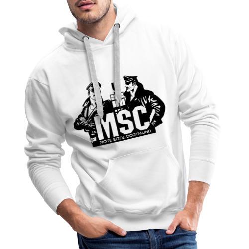 MSC logo spreadshirt - Männer Premium Hoodie